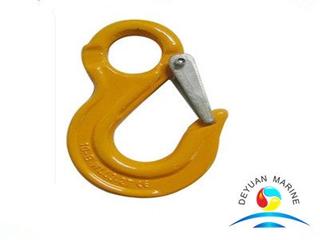 Italian Type Alloy Steel Eye Slip Rigging Hooks for Lifting Slings
