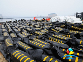 Solid Float Rubber Oil Boom