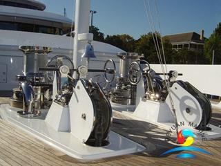 Stainless Steel Yacht Hydraulic Double Gypsy Anchor Windlass