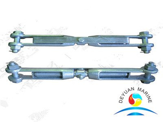 JIS F-3403 Galvanized Carbon Steel Rigging Screws