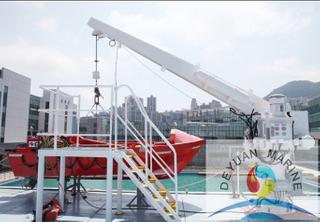 SOLAS Approve Marine High Speed Electric Rescue Boat Davit