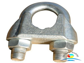 DIN741 Malleable Iron Carbon Steel Galvanize Wire Rope Clips