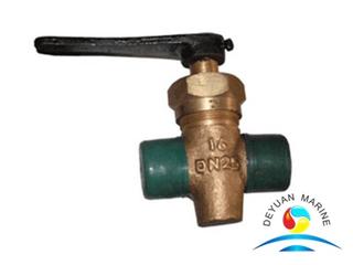 Marine Male Thread Bronze Drain Plug Valve