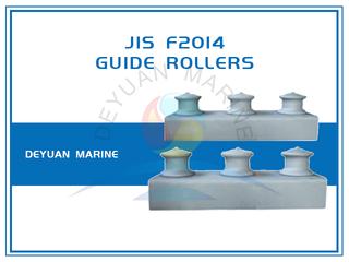JIS F2014 Three Roller Fairlead In Group Open Type