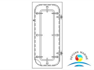Marine Heavy Type Steel Door for Boat With CCS
