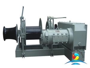Electric Combined Single Drum Single Gypsy Windlass And Mooring Winch