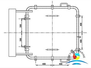 Marine Steel / Aluminium Suez Canel Light Hatch Cover