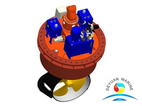 Marine Hydraulic Azimuth Ship Thruster/Rudder Propeller For Sale