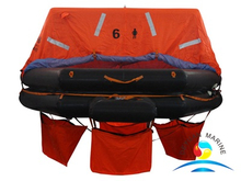 ABS ATOB Type 6 Man Marine Throw-overboard Inflatable Liferaft
