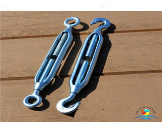 DIN1480 Type Galvanized Rigging Fastener Turnbuckles with Eye and Eye