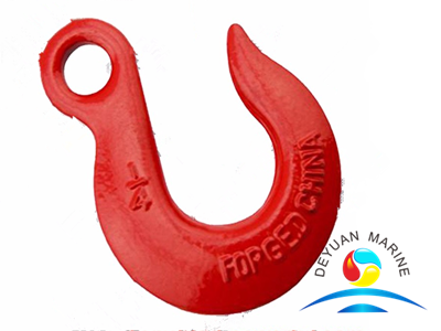 H324 A324 Carbon or Alloy Steel Eye Slip Lifting Hooks