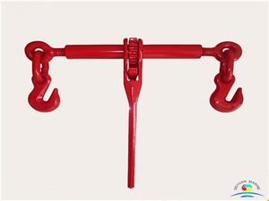 EN12195-3 Ratchet Type Drop Forged Chain Load Binders with Grab Hook