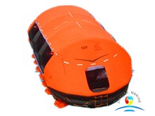 20 People Self Righting Inflatable Life Raft SOLAS Approved With GL certificate
