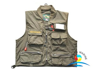 High Quality Cotton Fabric 100N Marine Inflatable Life Jacket