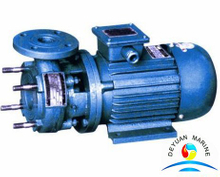 CCS approval PWF series marine horizontal type crushing pump with motor