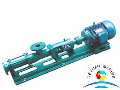 Marine G50-1 High Efficient Single Screw Pump With 25M3 Per Hour Capacity