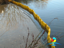Floating Oil Spill Containment Fence Boom