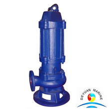 Marine Non-Jamming Cast Iron Submersible Sewage Pump WQ Series