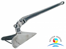 Boat Anchor Welded Plough Anchor Stainless Steel and Hot Dipped Galvanized
