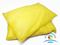 Yellow Chemical Absorbent Pillows