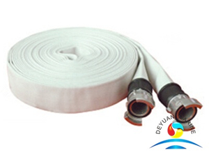Natural Rubber Lined Fire Hose