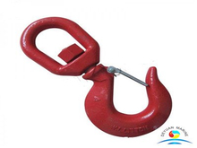 G80 Overhead Lifting S-322 Swivel Hoist Hooks with Latch