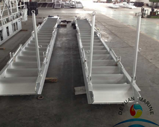 Marine aluminium gangway ladder 15M for port/ship
