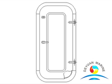 Marine Steel Single-leaf Non-weathertight Door For Vessel