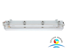 JCY48 Series Ship Marine Fluorescent Pendant Light With PC Cover