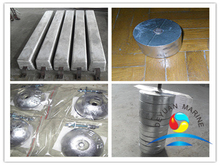 Aluminum Anode for Seawater Cooling System