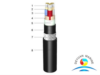 0.6/1kV XLPE Insulated Fire Resistant Shipboard Power Cable