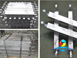Aluminum Anode for Storage Tank