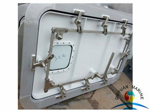 Marine A60 Fireproof Single-leaf Steel Weathertight Door