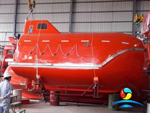 Good Price 18 Meters Marine Common Type Free Fall Lifeboat