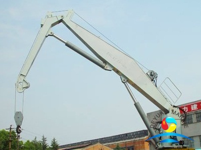 Hydraulic Driven Offshore Dock Marine Folding Type Crane