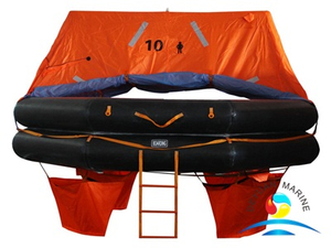 Marine ATOB Type 10 Man Throw Over Board Inflatable Liferaft