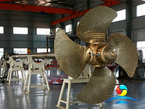 Boat Diesel Engine Driven Marine Controllable Pitch Propellers With CCS