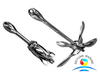 Marine Stainless Steel Folding Anchor Umbrella Forged Anchor for Yacht Boat