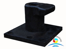 High Performance Cast Steel Dock Cleat Welded Incline Ships CVI Bollard