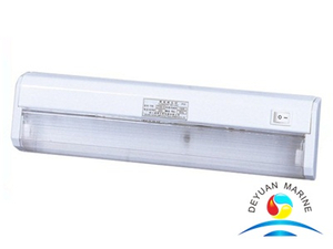 8W marine indoor fluorescent bedside light fixture JTY08-1A for boat