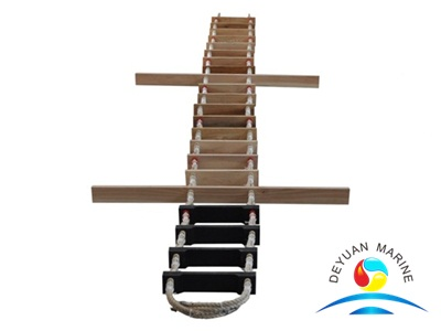 Marine Pilot Rope Ladder of SOLAS1974,standard ISO/R799-1968