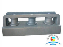 Marine Closed Type Three-roller Fairlead With Stand for sale