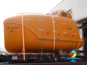 Normal Type SOLAS Marine 5.9 M 26 Person Free Fall Totally Enclosed Lifeboat
