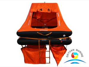 YJT Type 4 Man Throw-overboard Inflatable Liferaft