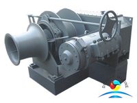 Single Drum Offshore Electric Power Motor Mooring Winches