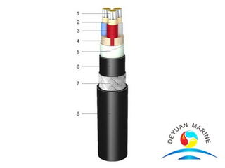 1.8/3kV XLPE Insulated Fire Resistant Shipboard Power Cable