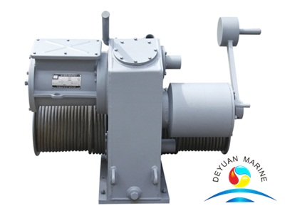 40KN Electrical Lifeboat Winch SOLAS Approved Type