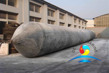 Marine Inflatable Rubber Launching Airbag For Ship