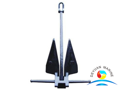 Hot Dipped Galvanized Steel HHP Danforth Type Marine Boat Anchor