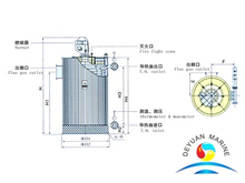 QXC-type Oil-fired Vertical Thermal Fluid Heater
